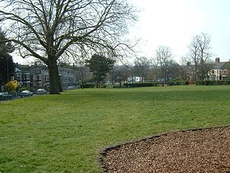 Sewell Park, Norwich - Sewell Park, Norwich - looking towards the city centre