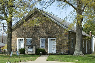 South Huntingdon Township, Westmoreland County, Pennsylvania - Image: Sewickley Presbyterian Church, Bells Mills Road