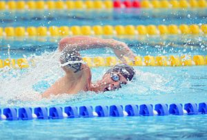 Sgt. Nathan Schrimsher swims at Rio Games (29036132652).jpg