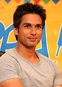 Shahid Kapoor looks directly at the camera.