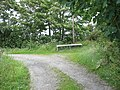 Sharp bend in the track near Parc Sais - geograph.org.uk - 887883.jpg