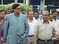 Shatrughan Sinha and Tapan Kumar Ganguly - Maritime Centre Inauguration - Science City - Kolkata 2003-10-17 00434.JPG