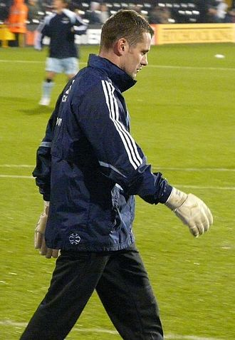 Shay Given - Given warming up for Newcastle in 2007