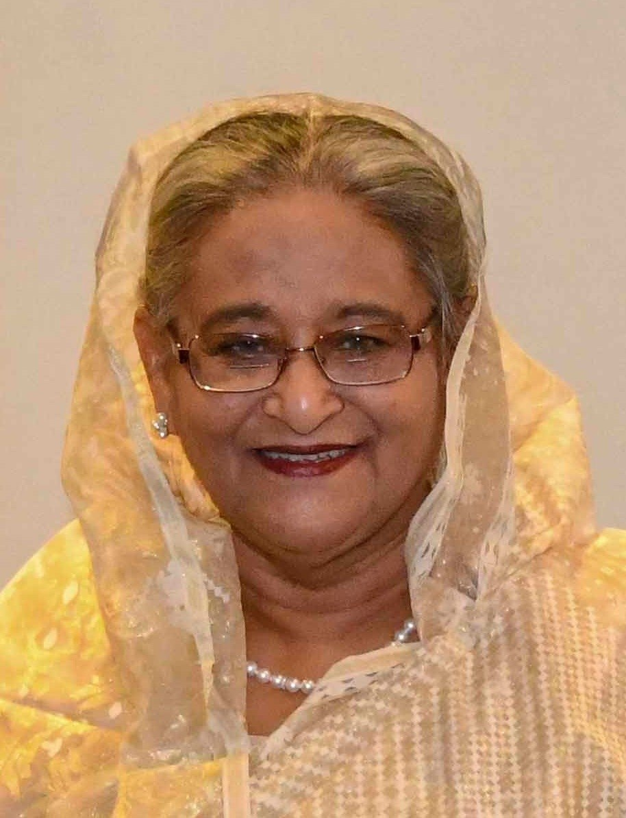 Sheikh Hasina in New York - 2018 (44057292035) (cropped)