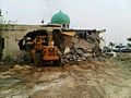 Sheikh Mohammed al-Barbaghi Mosque being demolished.jpg