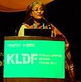 Sheila Sri Prakash Addressing Kuala Lumpur Design Forum 2013 Summit.jpg