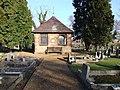 Shelter. Thorney Cemetery - geograph.org.uk - 1124455.jpg