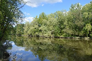 National Register of Historic Places listings in Mercer County, Pennsylvania - Image: Shenango River in Jefferson Township