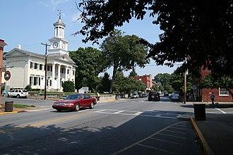Shepherdstown, West Virginia - View eastward down German Street.