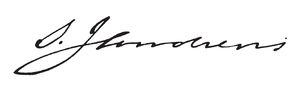 Sherlock James Andrews - Image: Sherlock James Andrews signature