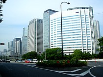 Shinagawa grandcommons seen from shinyatsuyamabashi intersection 2009.JPG