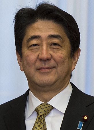 2016 Japanese House of Councillors election - Image: Shinzō Abe