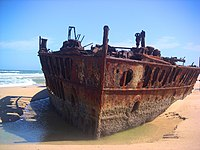 Ship Wreck Fraser island 2003.jpg