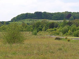 Heanor - Shipley Hill, part of Shipley Country Park to the south of the town