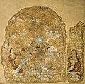 Shiva with Trisula Panjikent 7th–8th century CE Hermitage Museum.jpg