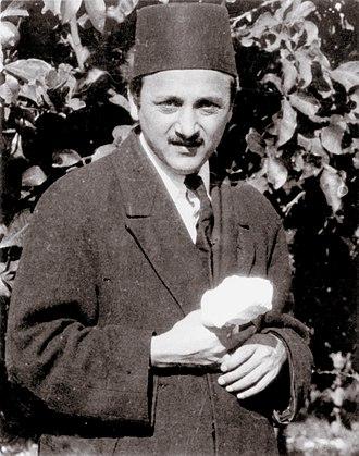 Shoghi Effendi - Shoghi Effendi in Haifa, 1921