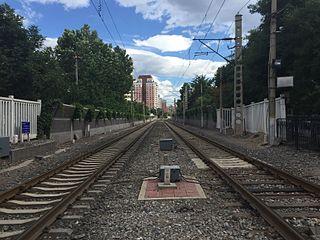 Beijing–Kowloon railway railway line