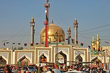 Храм Лал Шахбаз Каландар, Сехван Шариф, Синд, Пакистан.jpg