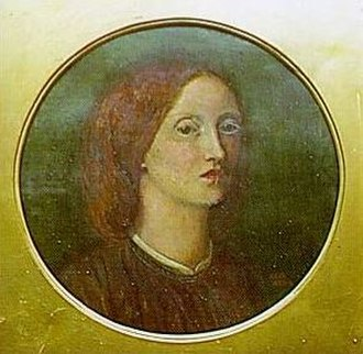 Elizabeth Siddal - Elizabeth Siddal in an 1854 self-portrait.
