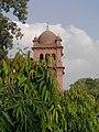 Side view of Punjab University Tomb.jpg