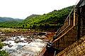 Sideview of Yeleru dam at Yeleswaram 03.JPG