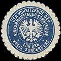 Siegelmarke Der Vorsitzende der Einkommensteuer-Kommission für den Kreis Sonderburg W0338049.jpg