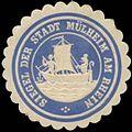 Siegelmarke Siegel der Stadt Mülheim am Rhein W0349314.jpg