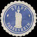 Siegelmarke Stadt Passenheim W0392360.jpg