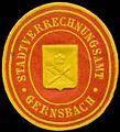 Siegelmarke Stadtverrechnungsamt Gernsbach W0309974.jpg