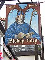 Sign for the Bishop Lacy, Chudleigh - geograph.org.uk - 929054.jpg
