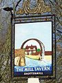 Sign for the Mill Tavern, Shottermill - geograph.org.uk - 554165.jpg
