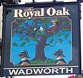Sign for the Royal Oak, Corsham - geograph.org.uk - 2018613.jpg