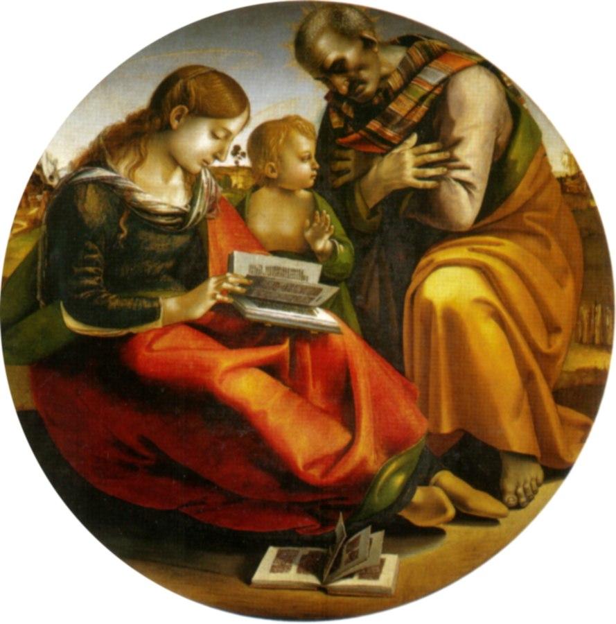 The Holy Family di parte guelfa