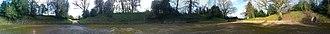 Calleva Atrebatum - Image: Silchester Ampitheatre Panorama 360 degrees