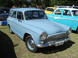 Simca Aronde - The 5-door Simca Aronde Station Wagon (P60) was developed by Chrysler Australia