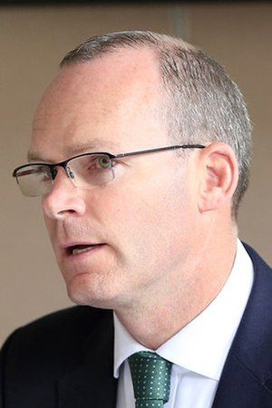 Simon Coveney - Image: Simon Coveney, Minister of Defence (cropped)