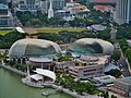Singapore Esplanade - Theatres by the Bay viewed from Marina Bay Sands 2.jpg