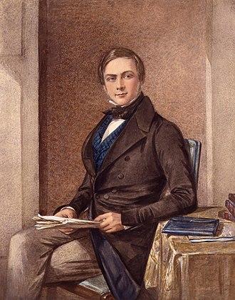 Francis Galton - Portrait of Galton by Octavius Oakley, 1840