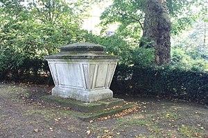 John Gurney (judge) - Sir John Gurney's grave, Old St Pancras Churchyard, London