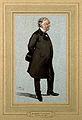 Sir William James Erasmus Wilson. Watercolour on blue ground Wellcome V0006313.jpg