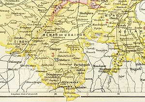 Udaipur State - Udaipur State in the Imperial Gazetteer of India