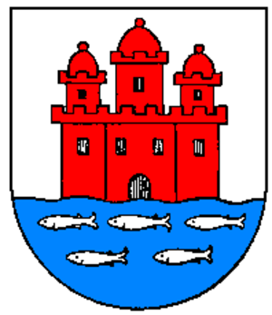 Skåne Market - The herring trade is symbolized in the Skanör-Falsterbo City Arms.