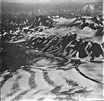 Skilak Glacier and Pocket Lake, ice filled lake near valley glacier, mountain glaciers on the surrounding mountains, September 4 (GLACIERS 6838).jpg
