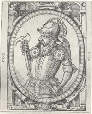 Skirgaila - Skirgaila, 16th century imaginative portrait