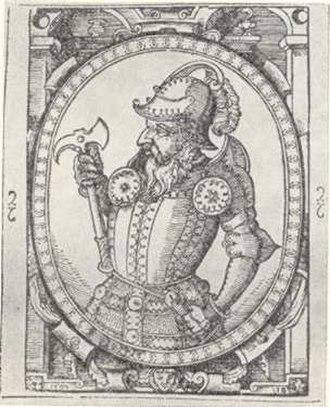 Skirgaila - Skirgaila, 16th century imaginative portrait