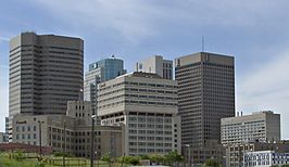 Skyline van Winnipeg