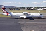 "Skywest Airlines ""Virgin Australia livery"" (VH-FVM) ATR 72-212A at Canberra Airport.jpg"