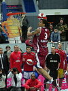 Slam-dunk by Gerald Green at all-star PBL game 2011