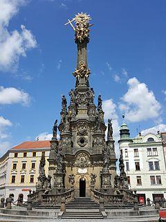 Marian and Holy Trinity columns