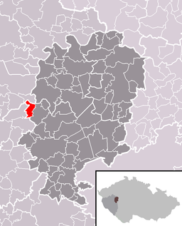 Location in the Czech Republic